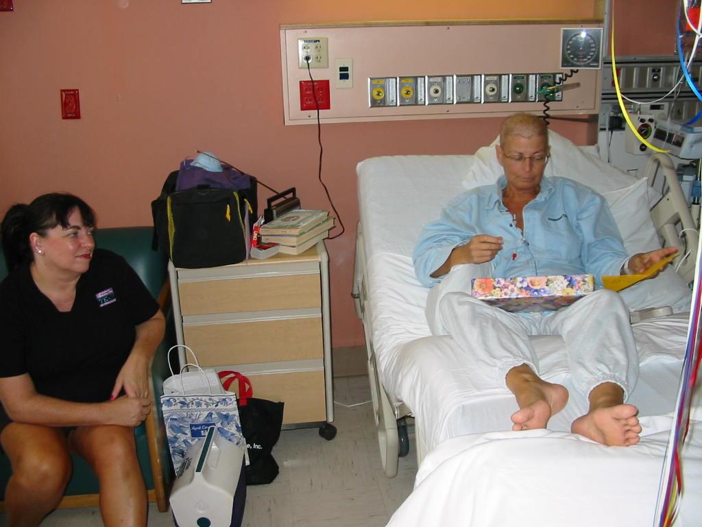 Patricia scott in the hospital