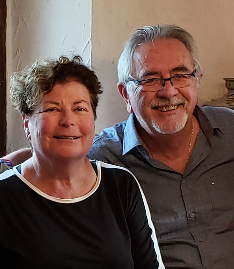Patricia j scot with husband