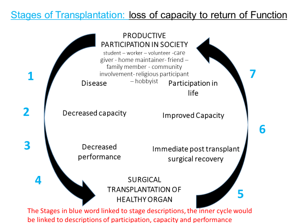 sages of surgical transplantation of healthy organ